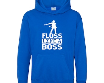 FLOSS LIKE A BOSS For YOUTH and ADULTS Hoodie