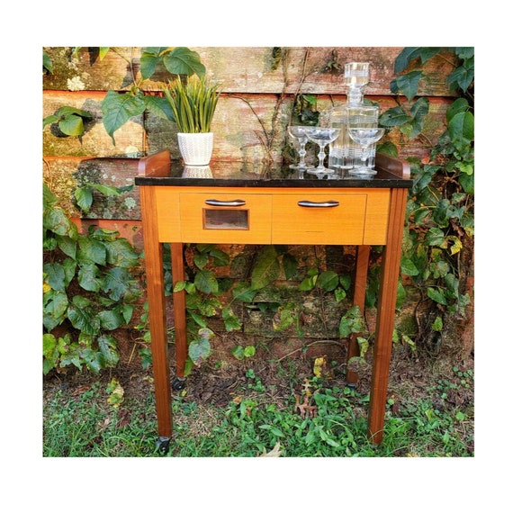 LOCAL PICKUP ONLY  - Deco Style Bar Cart