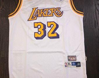 a330ccc49ae Los Angeles Lakers Magic Johnson NBA Jersey