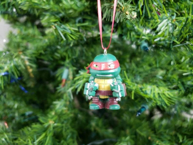 Ninja Turtle Christmas Tree.Raphael Teenage Mutant Ninja Turtles Christmas Ornament Gift