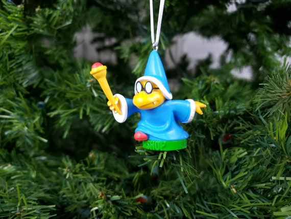 Christmas Mario Kart.Kamek Christmas Ornament Super Mario Bros Mario Kart Gift
