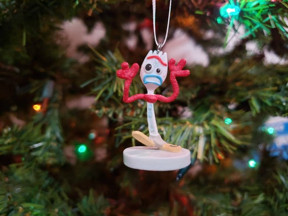 Toy Story Christmas Ornaments.Toy Story 4 Forky Christmas Ornament Gift