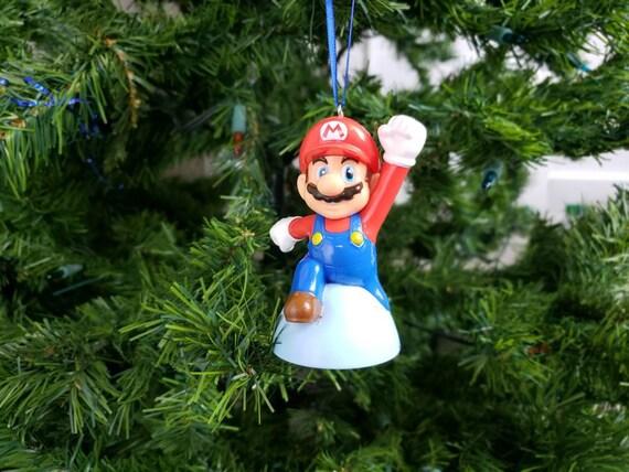 Christmas Mario Kart.Mario Kart Super Mario Bros Christmas Ornament Gift