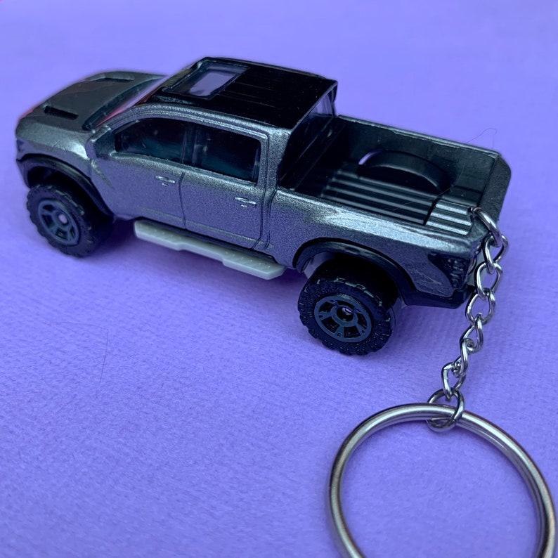 2016 Nissan Titan Warrior Matchbox Car Keychain Keyring