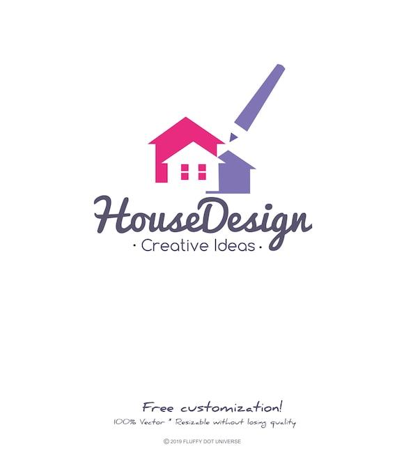 House Design Logo Apartment Logo Architect Logo Architectural Building Logo Color House Logo Home Design House Studio Logo House