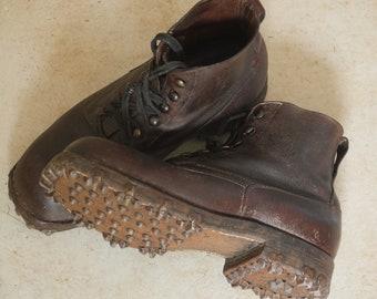55861da8a7784 Hobnail boots | Etsy
