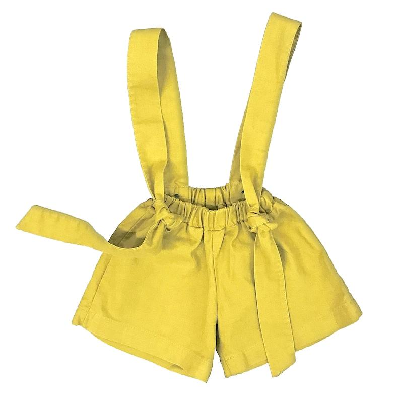 DIEGO unisex children shorts organic linen