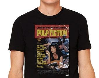 070eb160e9 PULP FICTION T shirt Hommes Femmes Enfants Taillex XS - 5XL 100% Cotton  Movie Retro Classic Cult Tarantino