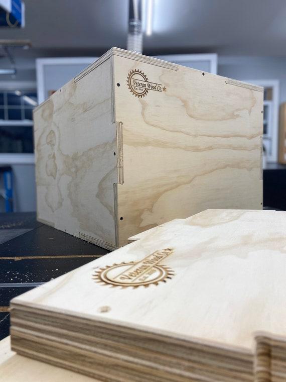 CNC Cut Plyo-Box