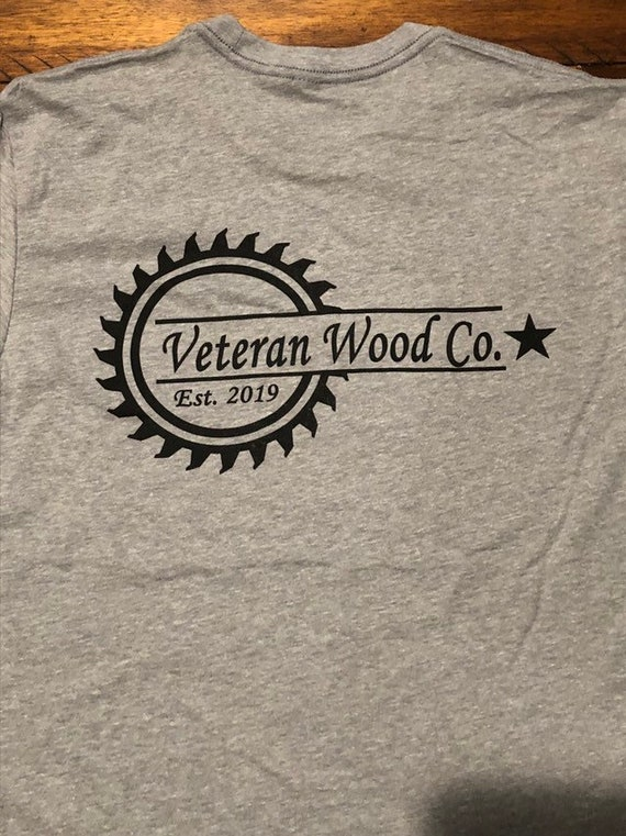 Veteran Wood Co. tee shirt
