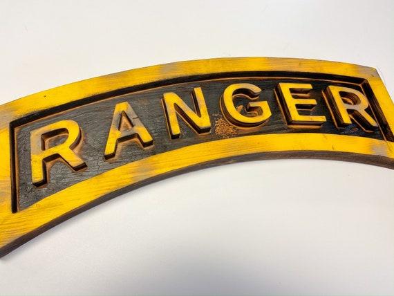 Ranger Tab, wooden