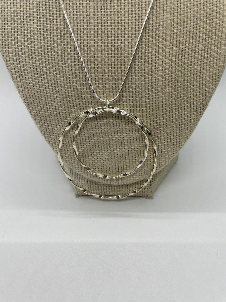 Vintage circles Necklace