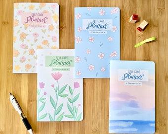Self Care Planner | Undated Weekly Bullet Journal | Wellness Planner | Gratitude Journal | Self Love Journal | Mood Tracker