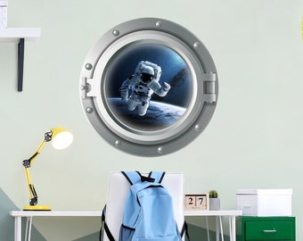 Wandtattoo Astronaut Etsy