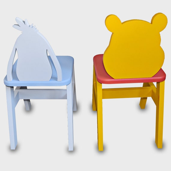 Outstanding Winnie The Pooh Kids Table Chair Set Andrewgaddart Wooden Chair Designs For Living Room Andrewgaddartcom