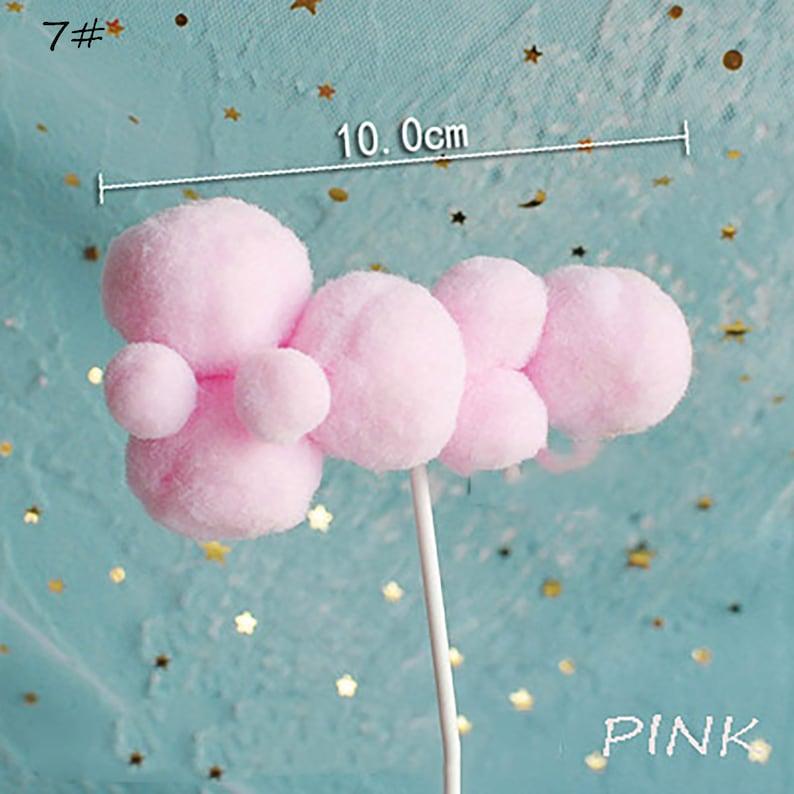 Cloud Three-dimensional Hot Air Balloon Cake Topper ...