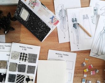 Miniatures Fashion Design set pour poupée 1/6