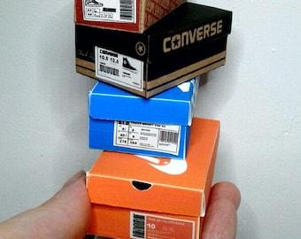 PDF Miniatures Shoes boxes designer Sport  1/6 scale