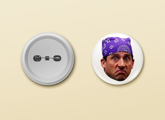 Prison Mike Pin / Fridge Magnet   Pinback Metal Backed Button Office by Etsy