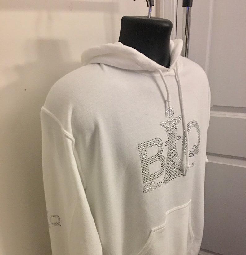 Beautiful Queen BQ Royal-Tees,Rhinestone Hoodies,Hoody for Women,Gifts White Black Adult Hooded Sweatshirt,Ladies Hoodies