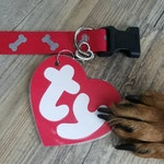 Dog Costume, Pet Costume Tag, Customize your Dog Tag, Fur baby Halloween Costume, Puppy Photo Prop, Pet Photo Prop, Halloween Pet Costume