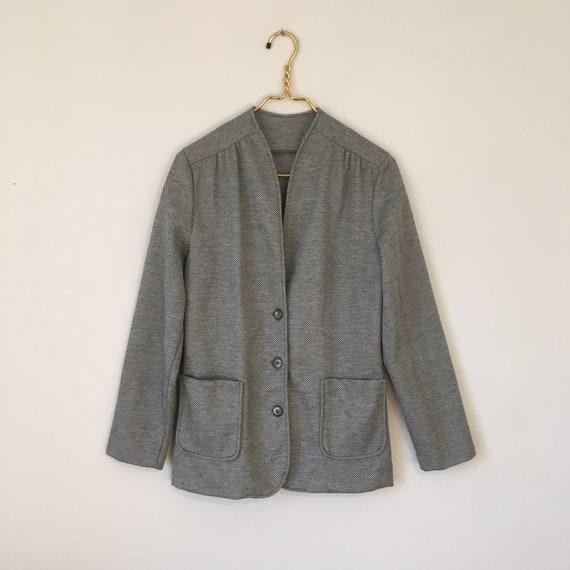 Vintage 1980's Herringbone Jacket
