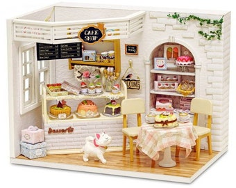 6Pcs 1:12 Dollhouse Miniature Bread Cake for Dollhouse Decor Gift HC