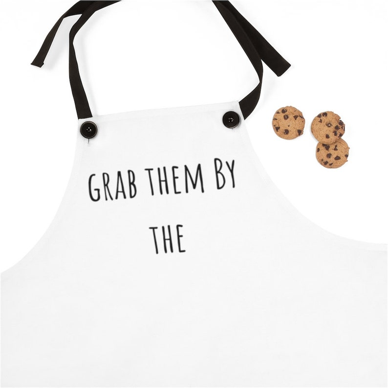 Funny apron Apron for women Grab them by the sassy aprons Apron