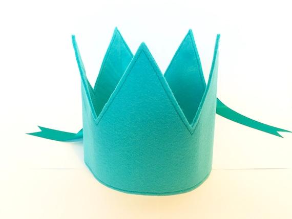 Party Hat Childrens Crown Felt Crown