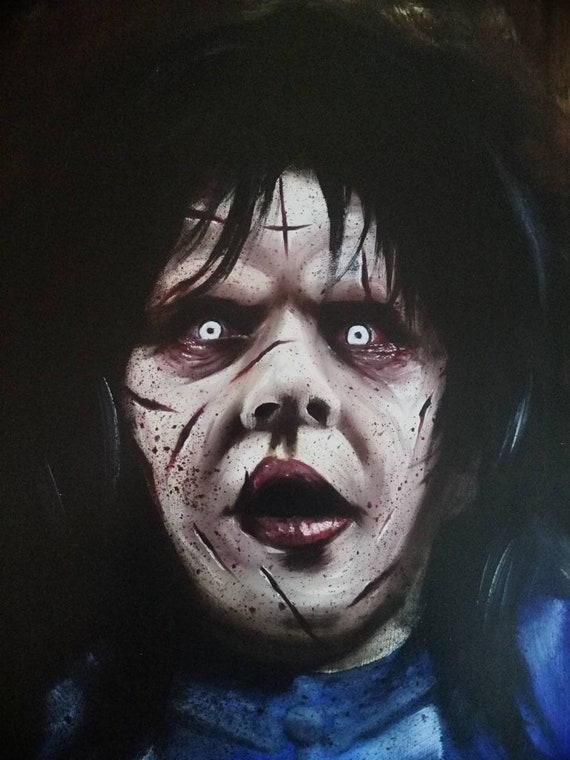 "Retro /""The Exorcist/"" Horror Paranormal Movie Film Poster Print Picture A3 A4 A5"