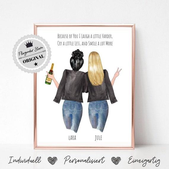Geschenk Beste Freundin Beste Freundin Geburtstag Geschenkidee Freundin Bild Schwester Geschenkidee Geschenkideen Freundin Poster