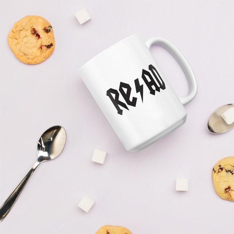 Rock Roll and Read Mug image 0