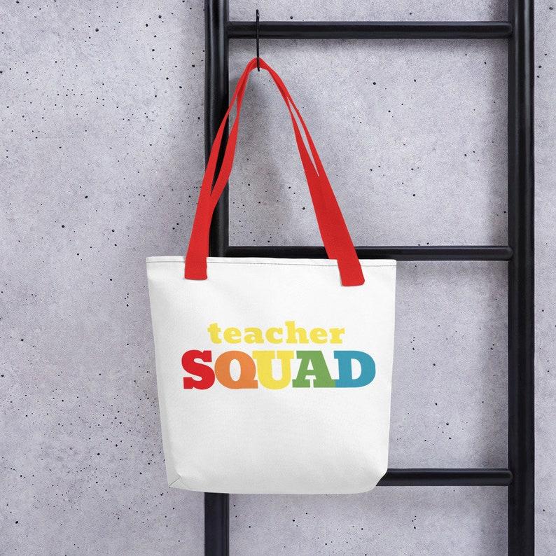 TEACHER SQUAD Tote Bag image 0