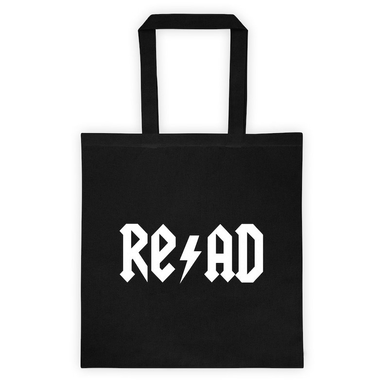 Rock Roll and Read Tote bag image 0