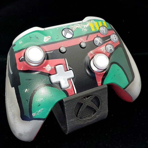 Boba Fett Inspired Handcrafted Xbox Controller