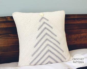 Christmas CROCHET PATTERN, Christmas Tree, Pillow, Cushion, Holiday, Handmade