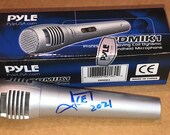 ICE-T Autographed Signed Pyle Electric Microphone Law Order SVU