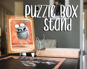 Puzzle Box Stand - Puzzle Lid Holder - Puzzle Box Holder - Puzzle Easel