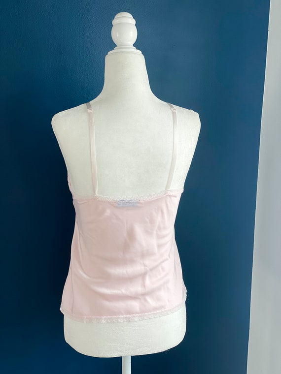 Size XS/S Pale Pink Silk Camisole - image 5