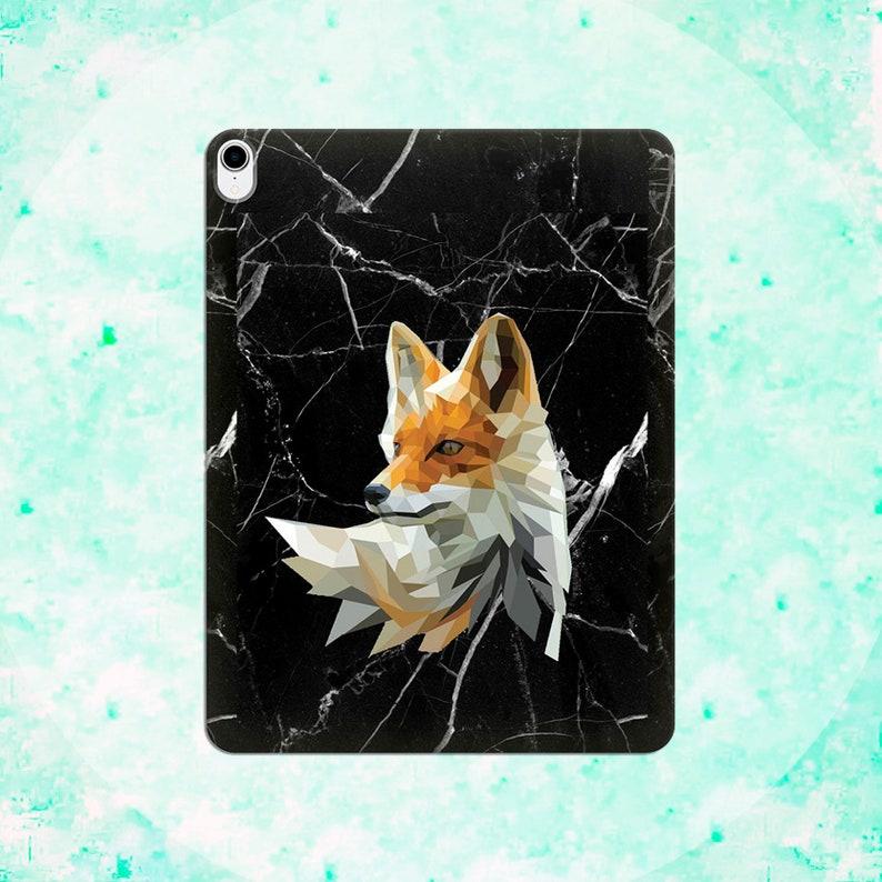 Fox Case iPad Pro 12.9 iPad 3 Apple iPad 11 Black Marble cover iPad mini 2 3 4 iPad Air iPad Pro 9.7 iPad Pro 10.5 Protective cover Animal