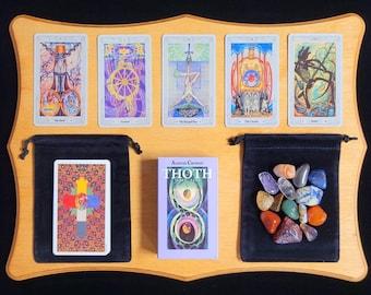 Thoth Tarot Deck,78 Cards, Tarot Card Set, Tarot Gifts, Vintage Tarot Cards, Beautiful Tarot Deck, Unique Tarot Deck, PDF Guide