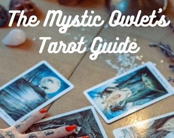 The Mystic Owlet Tarot Guide PDF Download, Tarot Discovery E-Book, 101 Pages, Tarot Cards, Tarot Deck Booklet
