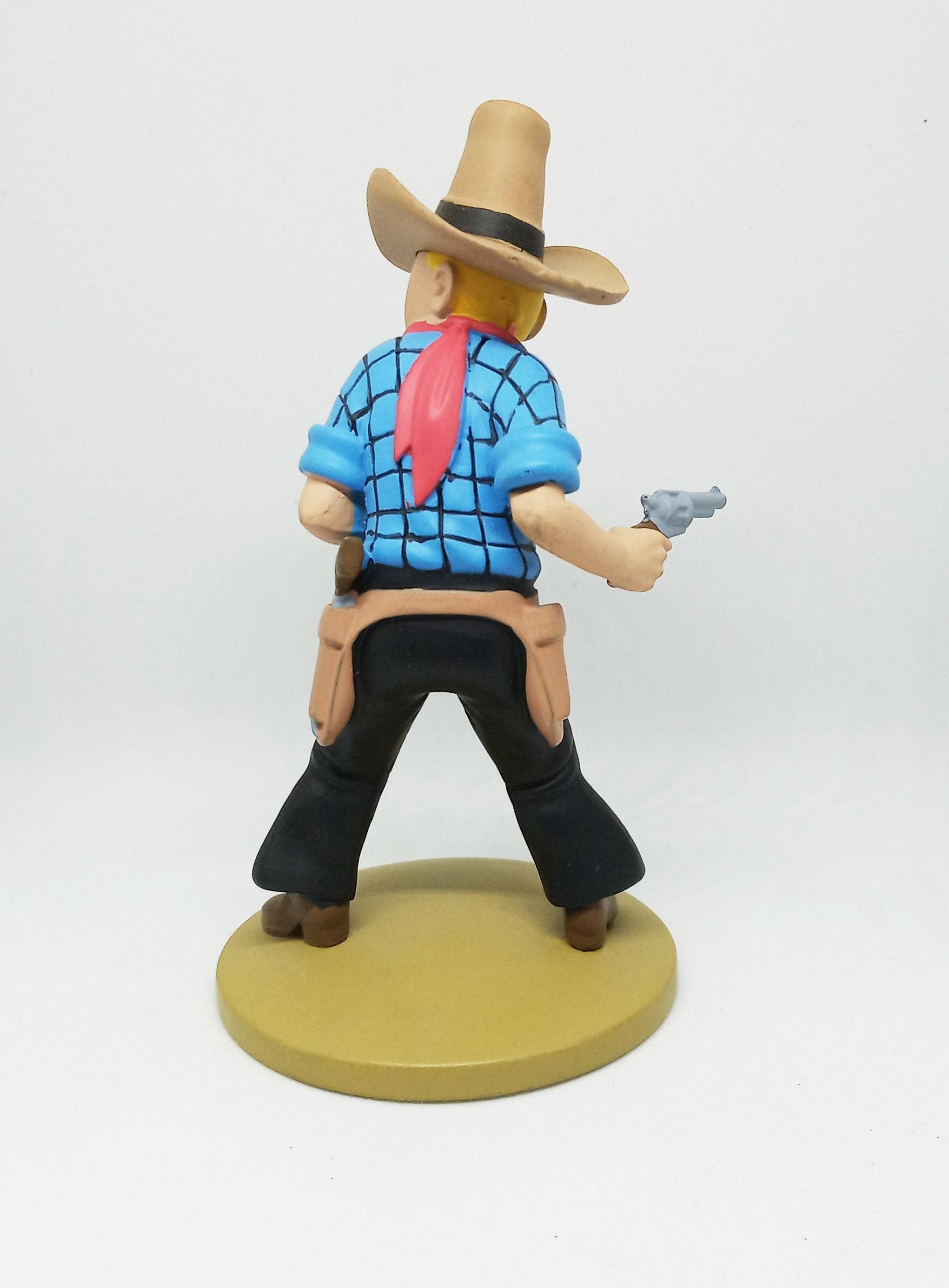 A Hoy Figura de colecciónTintin Cowboy Nº30 Moulinsart 2015 . 7ioKg7