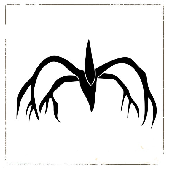 The Mind Flayer Svg Stranger Things Svg The Shadow Monster Etsy