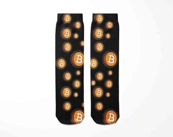 Bitcoin Ball Beauty /& The Bitcoin Socks