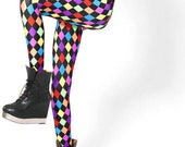 Rainbow Harlequin Leggings