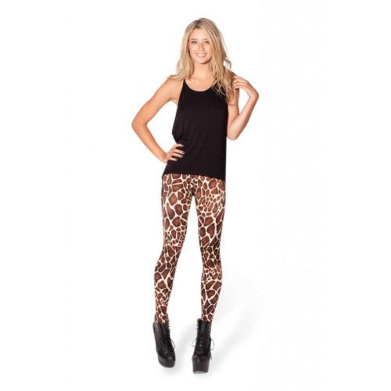 Giraffe Print Leggings image 0