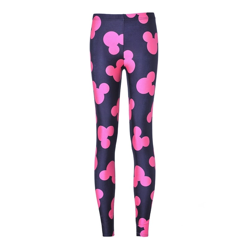 Pink Mickey Mouse Leggings image 0