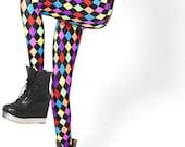 Rainbow Harlequin Leggings