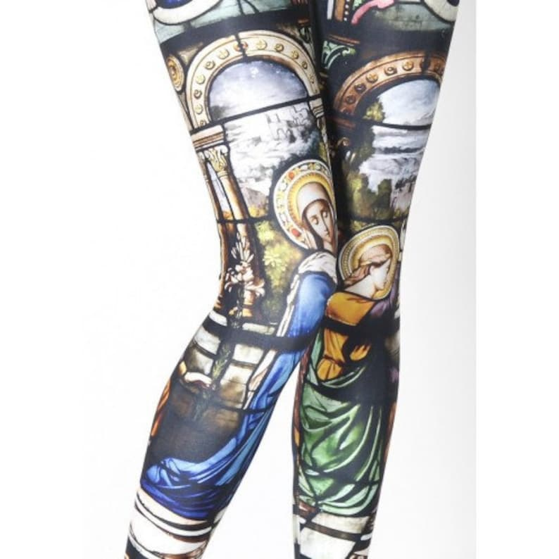 Stained Glass Leggings image 0